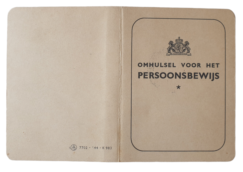 ID card persoonsbewijs cover