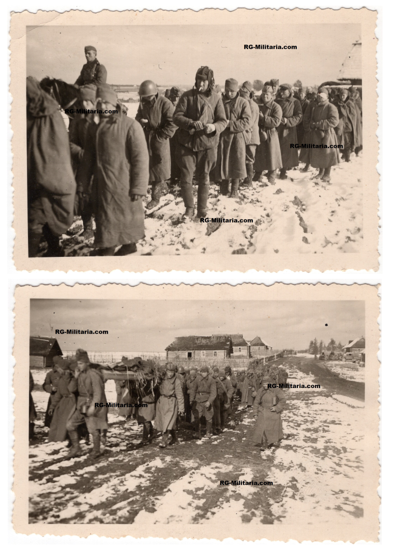 Photo - Russian POW's Eastern Front