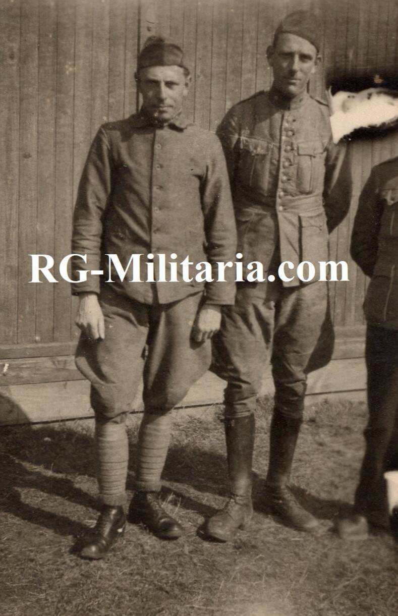 Photo - Two Dutch Soldiers 1940