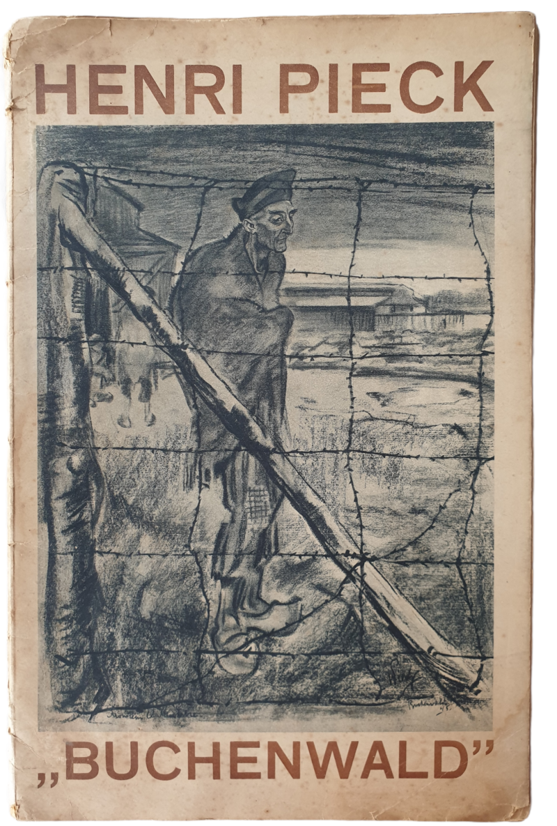 Drawings Henri Pieck from concentration camp Buchenwald