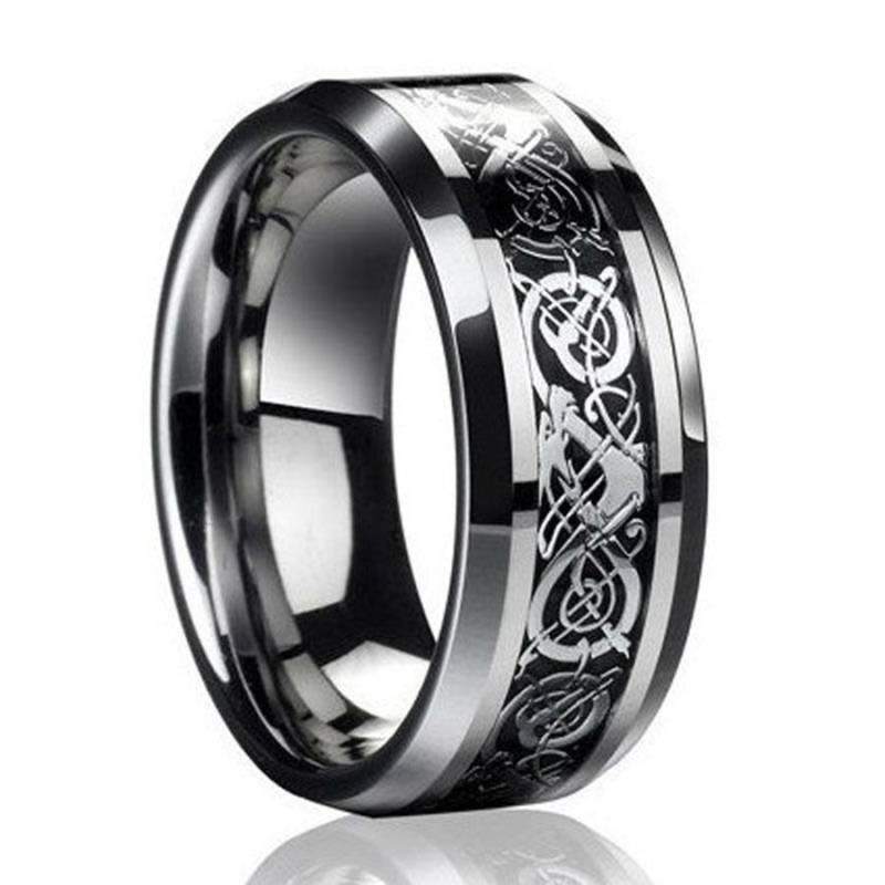 Ring Titanium Black - Game of Thrones