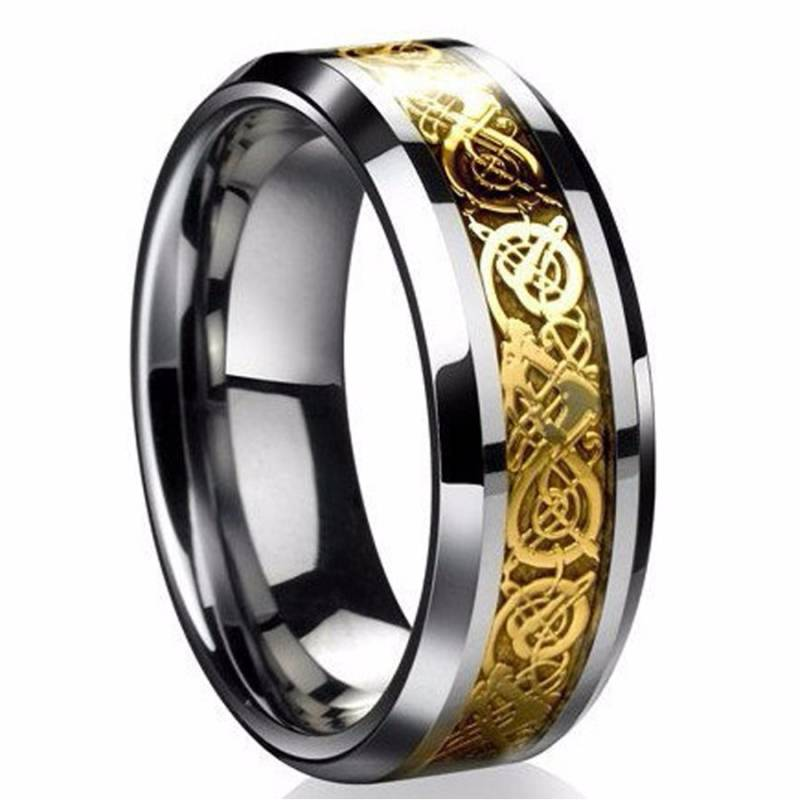Ring Titanium Gold - Game of Thrones