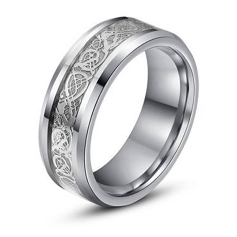 Ring Titanium Zilver - Game of Thrones