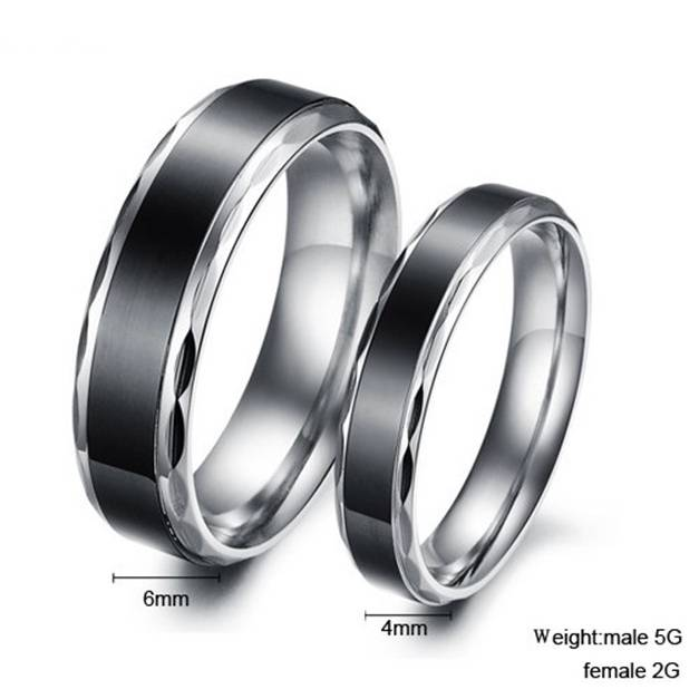 Ring Stainless-Steel Black