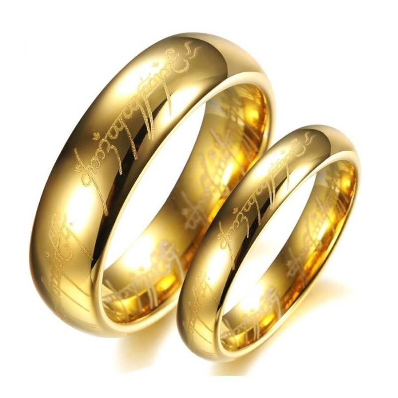 Ring Wolfraam Gold - Lord of the Rings