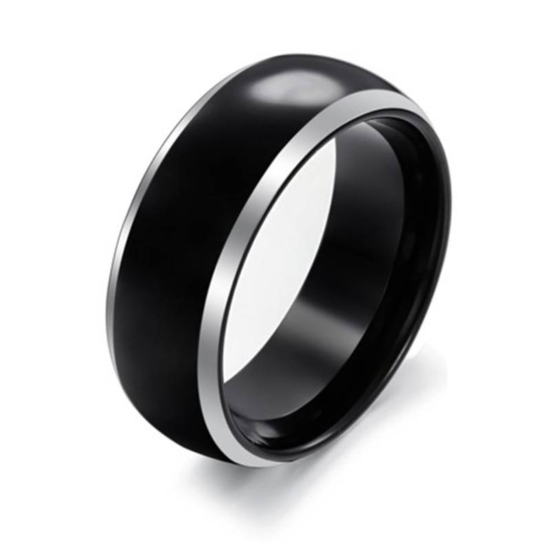 Ring Wolfraam Black [Type 2]