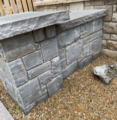 Grey Sandstone Capping