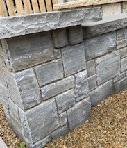 Grey Sandstone Pier Capping