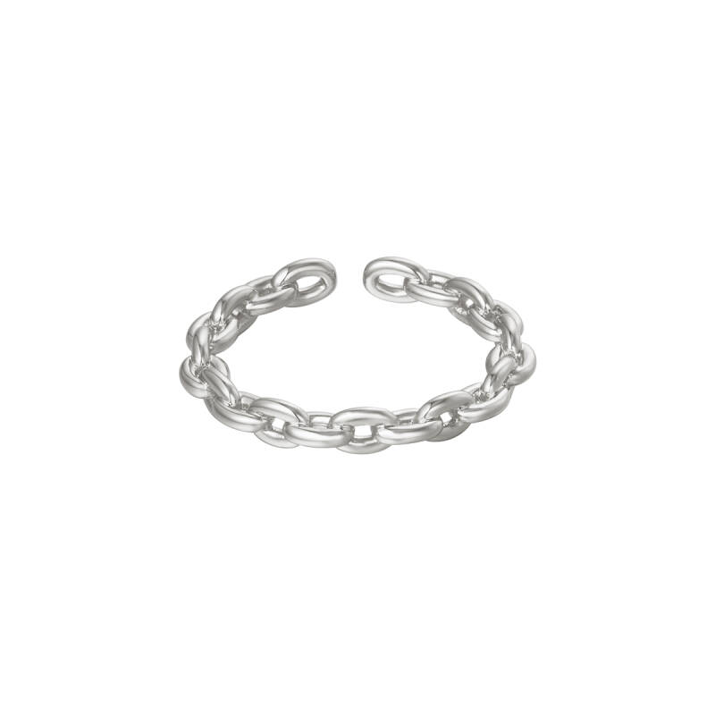Chain Ring silver