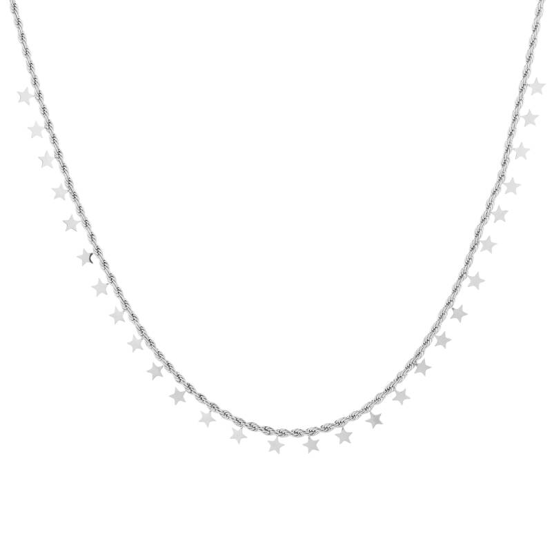 Stars Necklace silver
