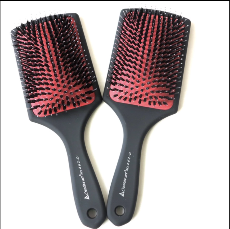 Hairextension paddle brush