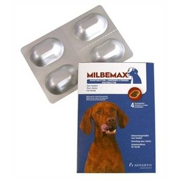 Ontworm tabletten large hond