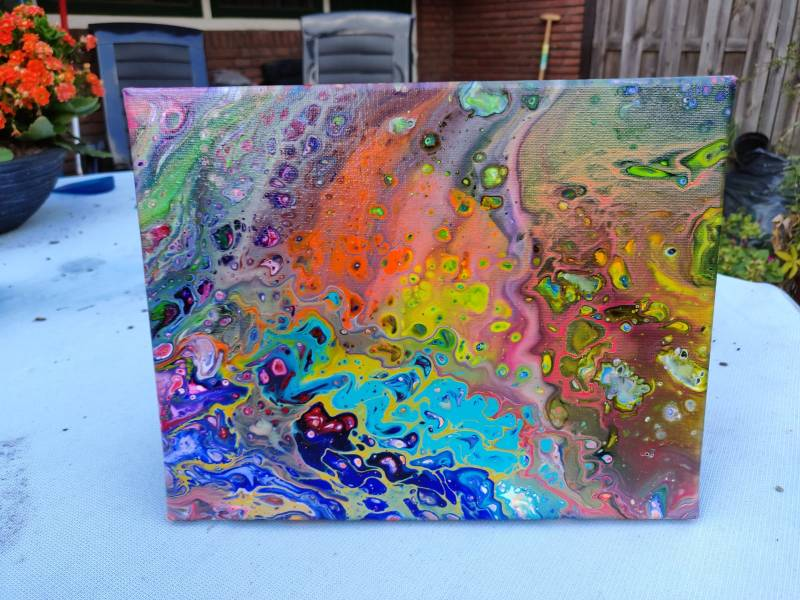"""Flying Colors"" 24x30"