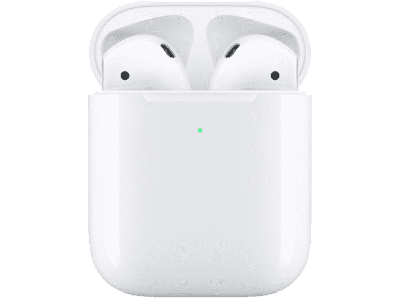 Apple AirPods Serie 2 incl wireless charging case
