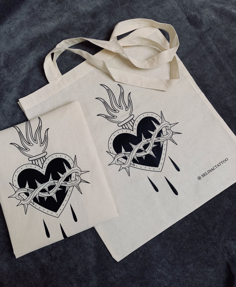 Sacred Heart - Tote bag