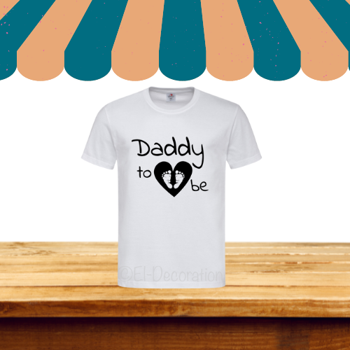 T-shirt | Daddy to be