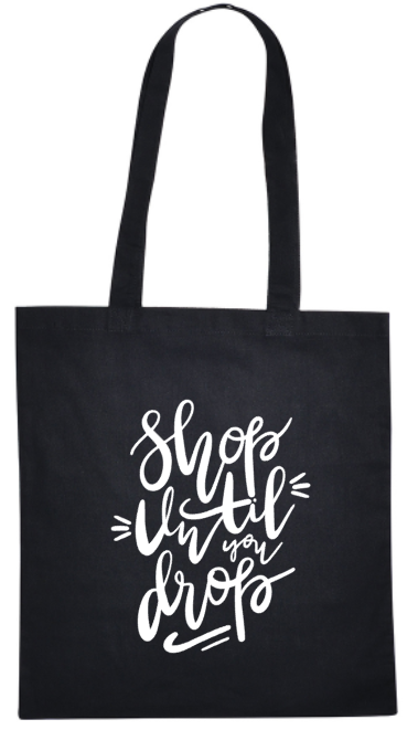 Katoenen tas - Shop until you drop