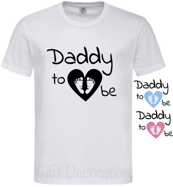 T-shirt   Daddy to be