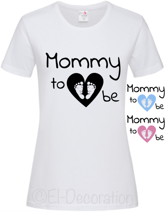 T-shirt | Mommy to be