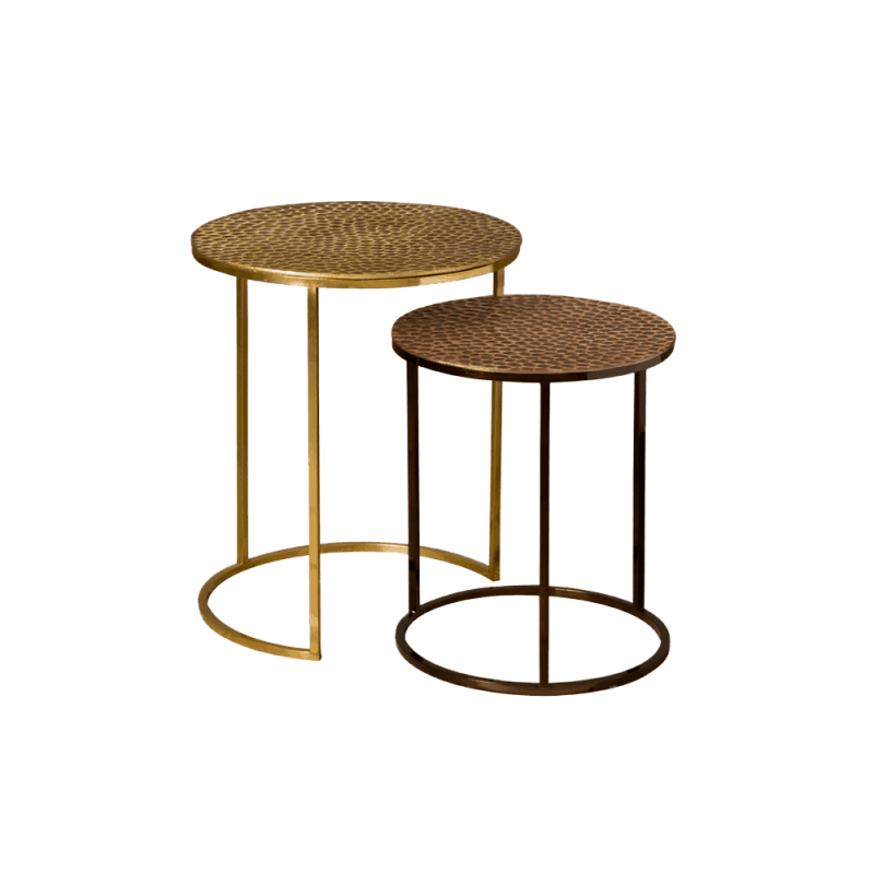 Set van twee gold/black
