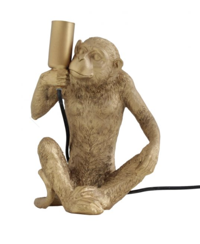 TABLE LAMP HAPPY MONKEY