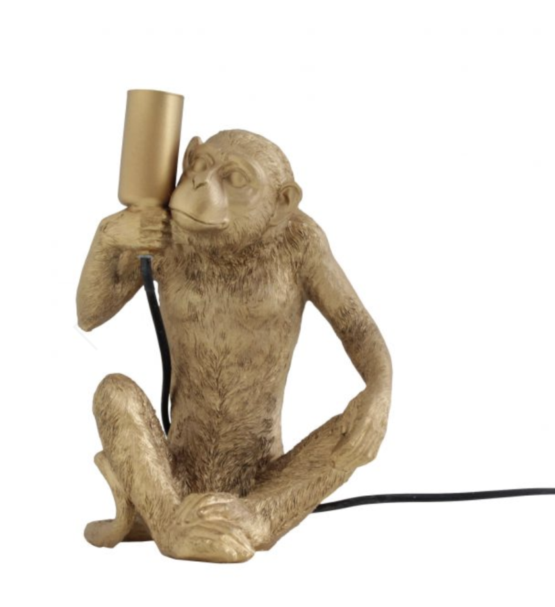HV TABLE LAMP HAPPY MONKEY 22X16X18