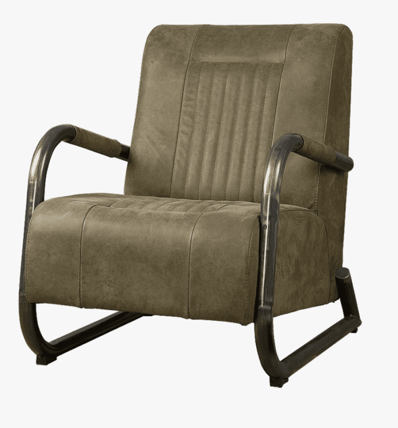 Barn fauteuil olive