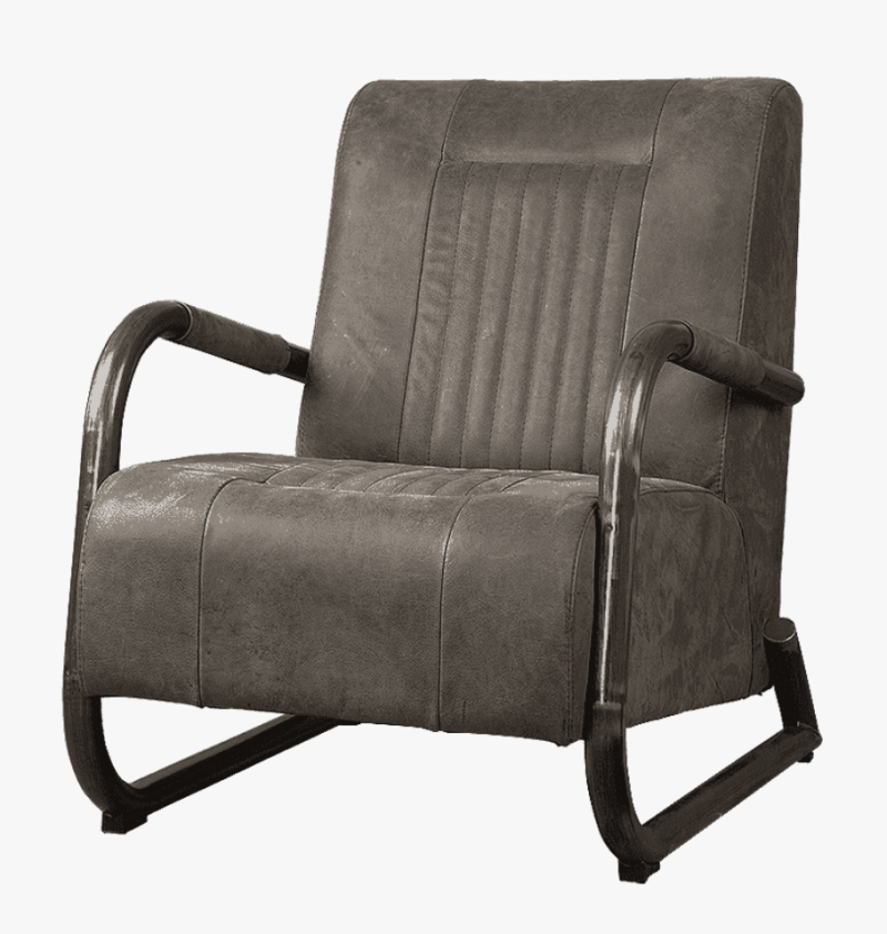 Barn fauteuil antraciet