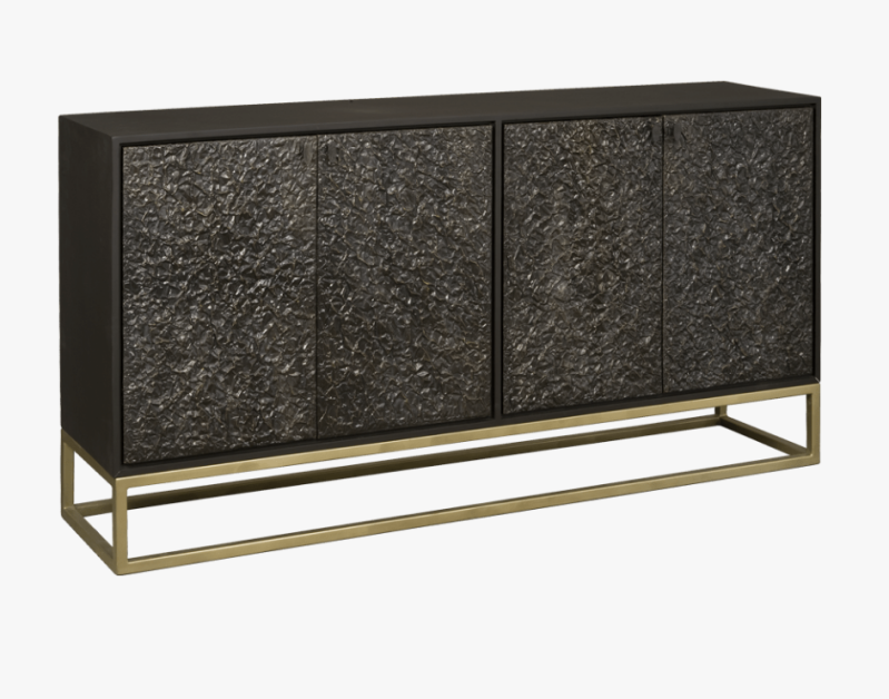 Dressoir black/gold