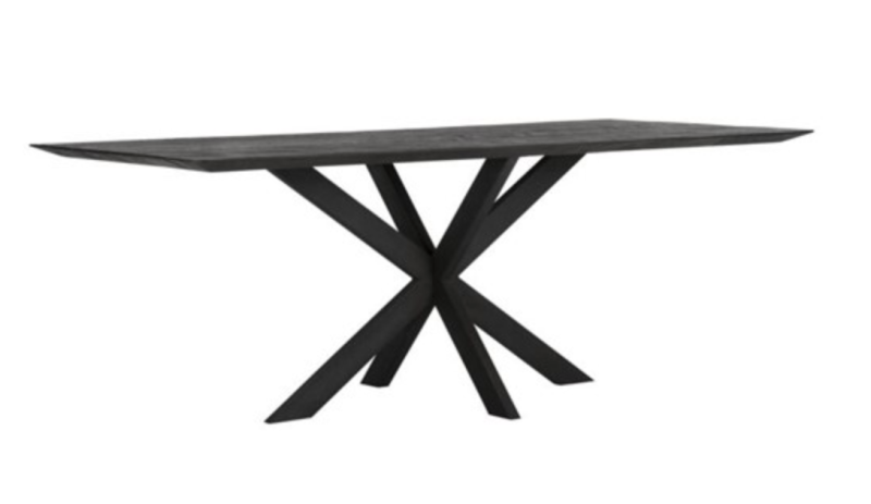 Eettafel Curves Black