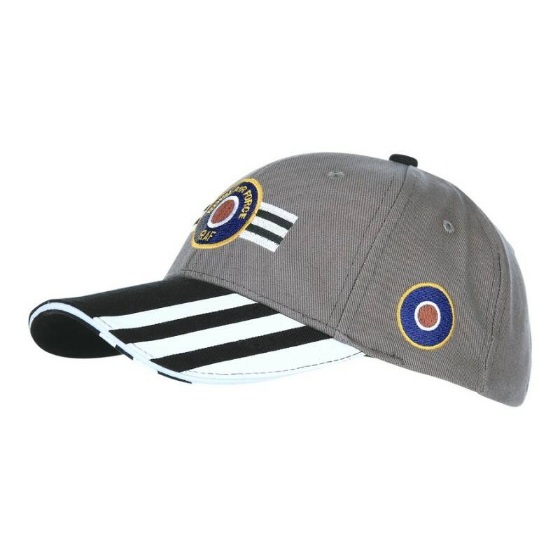 BASEBALL CAP ROYAL AIR FORCE INVASION STRIPES
