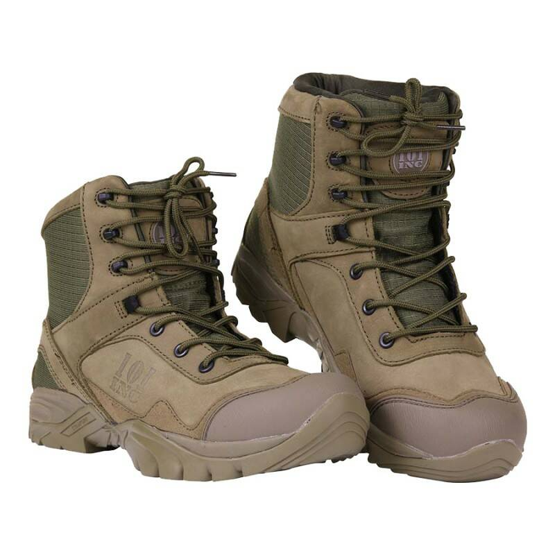 RECON BOOTS MEDIUM HIGH Groen / Coyote / Zwart