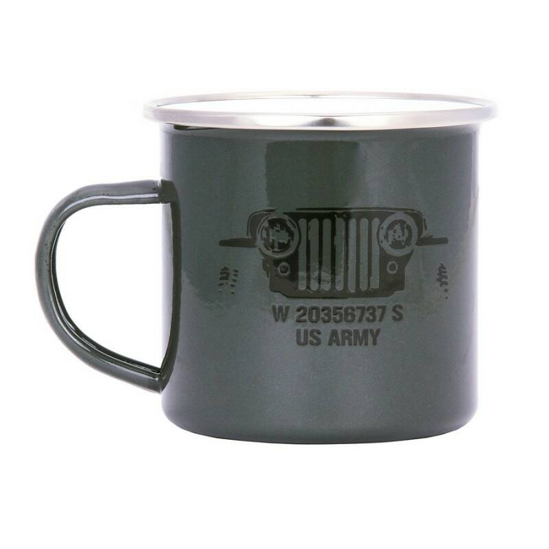 EMAILLE MOK US ARMY Groen