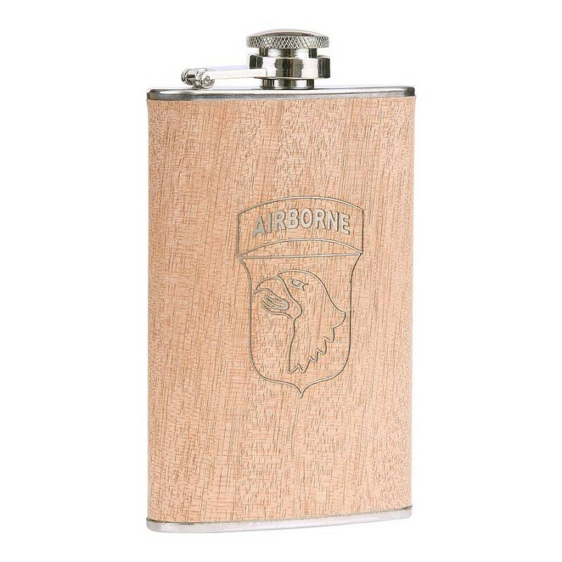 ZAKFLES 5 OUNCE 101ST AIRBORNE HOUT LOOK