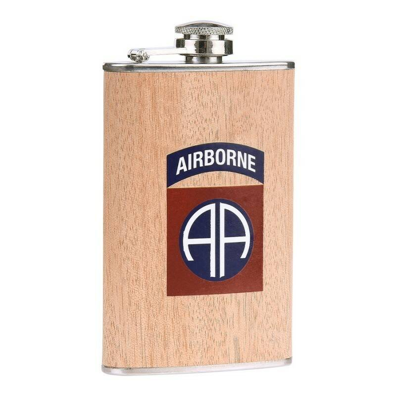 ZAKFLES 5 OUNCE 82ND AIRBORNE HOUT LOOK
