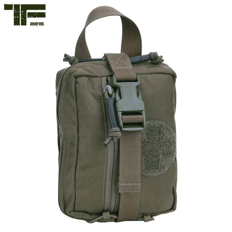 TF-2215 MEDIC POUCH LARGE Ranger green