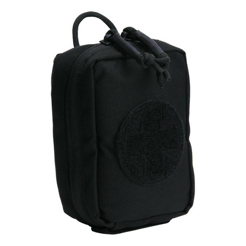 TF-2215 MEDIC POUCH SMALL HOOK AND LOOP Zwart