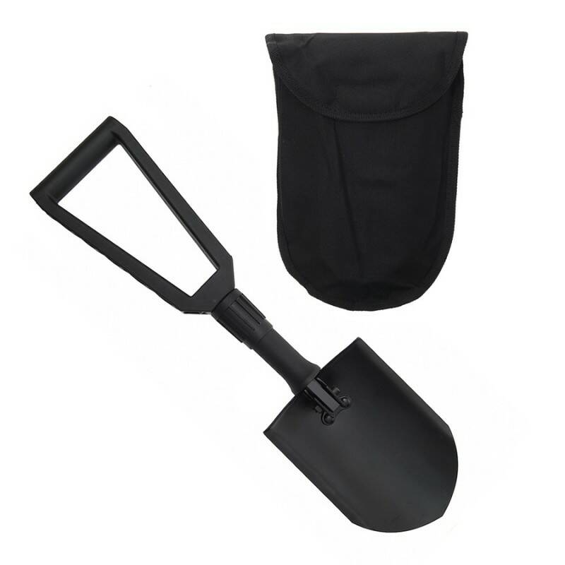 TRIFOLD SHOVEL PLASTIC HANDLE