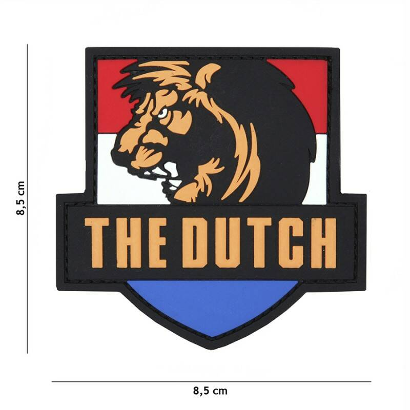 EMBLEEM 3D THE DUTCH