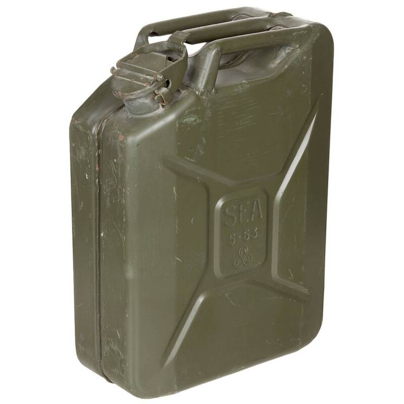 FRANSE JERRYCAN 20 LITER (grote opening)
