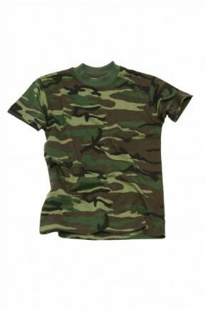 KM KINDER T-SHIRT WOODLAND
