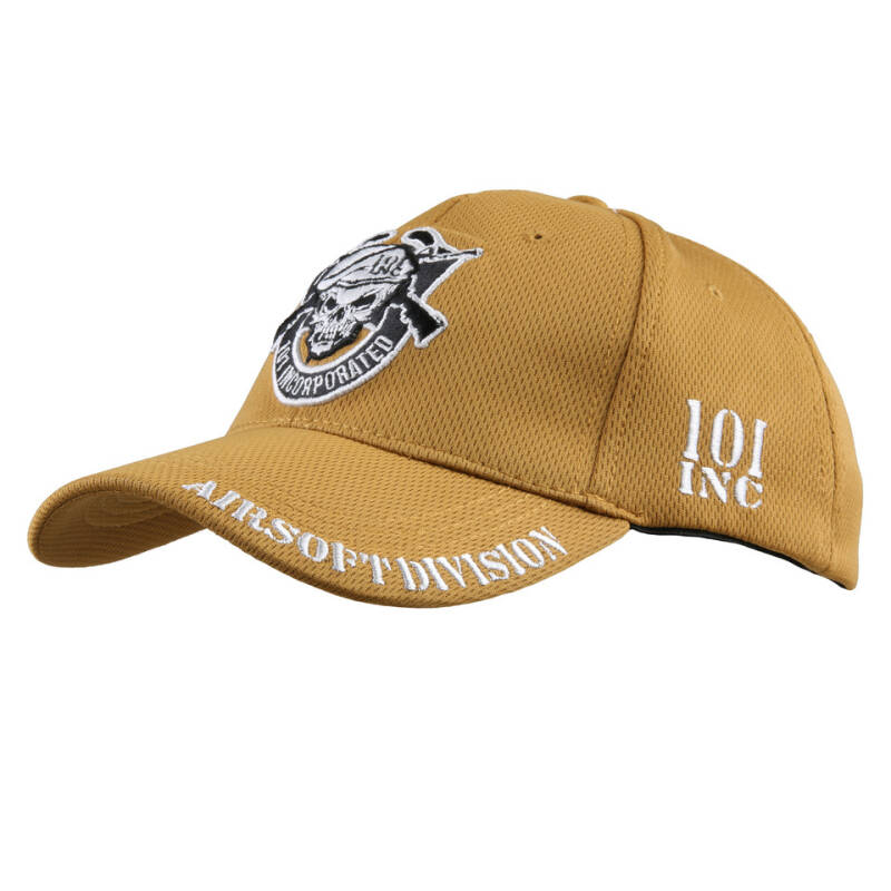 BASEBALL CAP 101 INC AIRSOFT DIVISION Coyote / Zwart