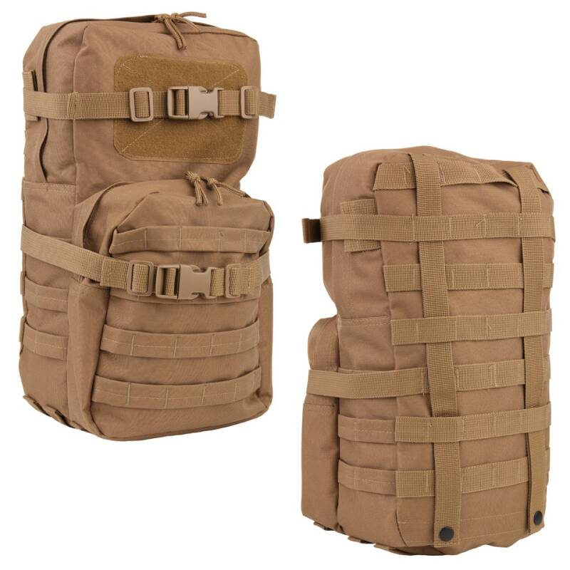 MOLLE RUGZAK (ADD ON) LQ 14166 Groen / Coyote / Zwart