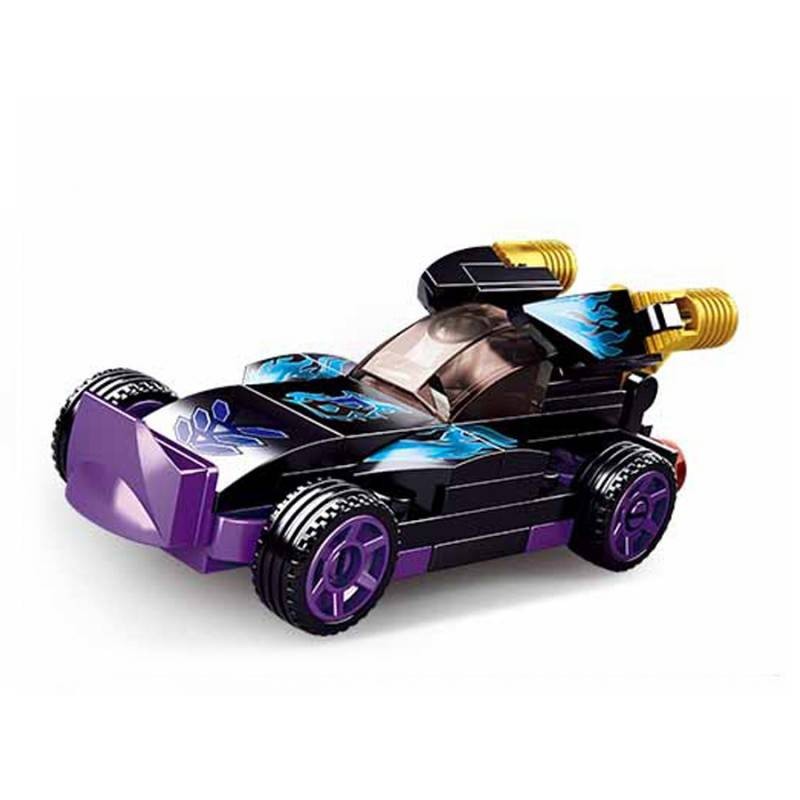 SLUBAN POWERBRICKS-PULLBACK / PURPLE RAPTOR