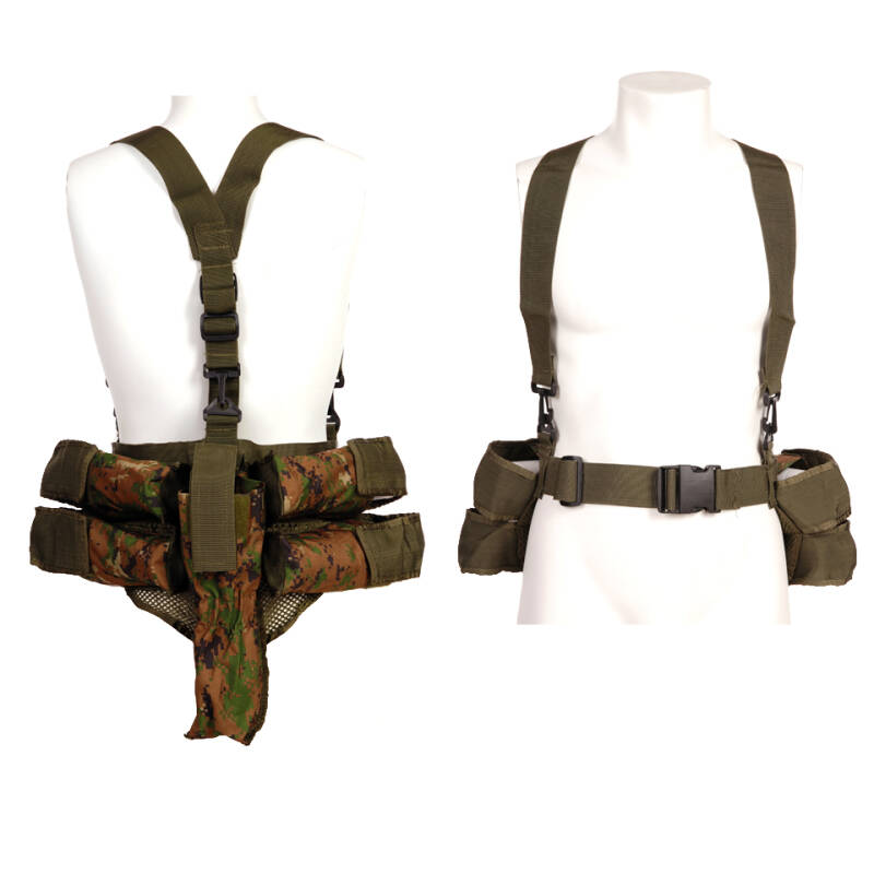 TACTICAL PAINTBALL VEST Groen/ Zwart / Digital camo / Acu
