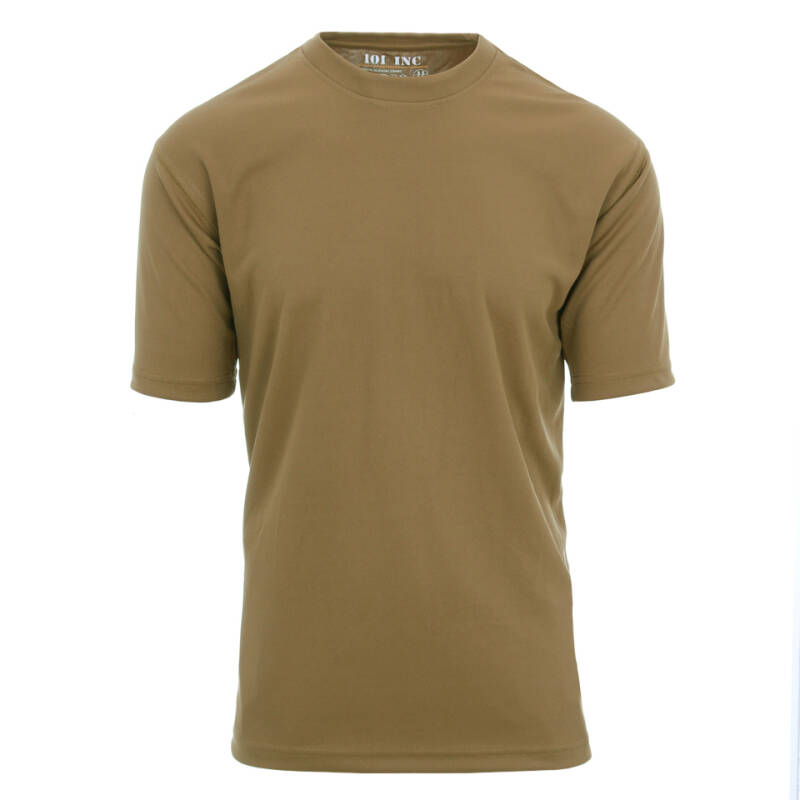 TACTICAL T-SHIRT QUICK DRY Groen / Coyote / Blauw / Zwart / Wolf grey