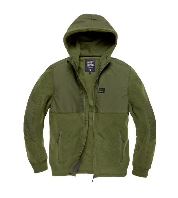 LANDELL POLAR FLEECE JACKET OLIVE