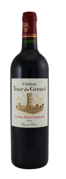 Chat. Tour De Grenet Lussac Saint-Emilion Rouge