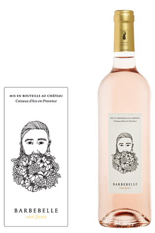 Vaderdag luxe tapasschotel & Chateau Barbebelle 'Fleurie' Rosé