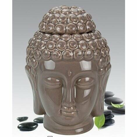 Oil/wax Burner Buddha Head Big Taupe